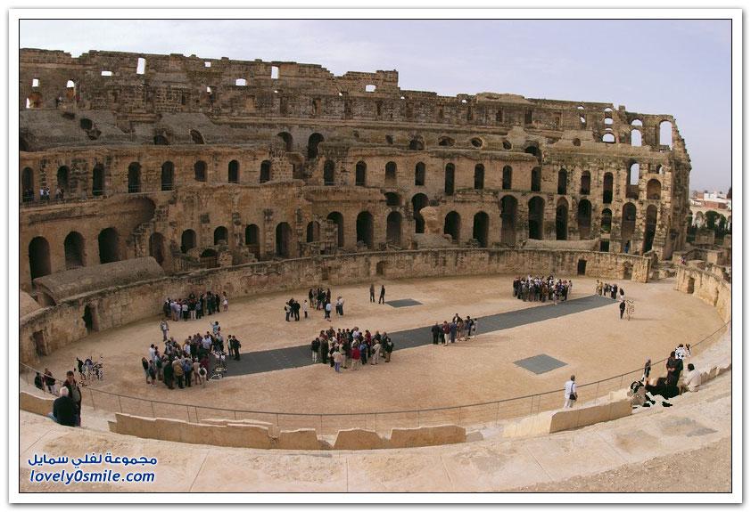 مسرح الجم في ولاية المهدية في تونس