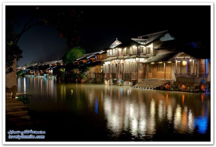 بلدة المياه واتشن في الصين