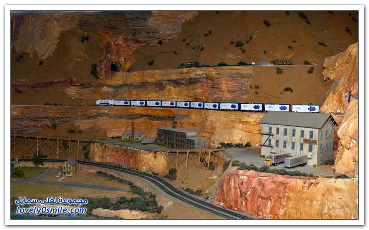 أكبر مجسم للسكة الحديدية في العالم
