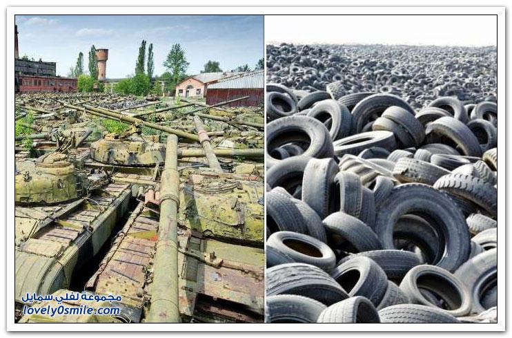 أكبر مقابر النفايات حول العالم