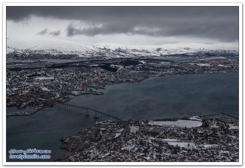 ترومسو مدينة شمال النرويج