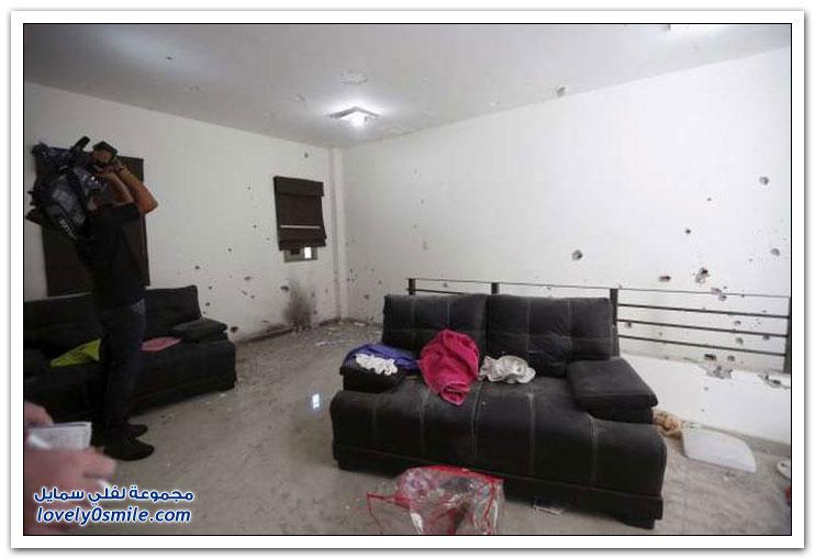 مخبأ إمبراطور المخدرات المكسيكي إل تشابو قبل القبض عليه