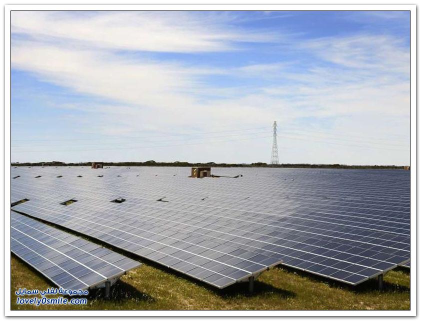 أكثر الدول استخداماً للطاقة الشمسية