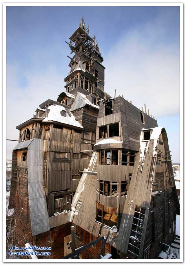 المباني غير العادية حول العالم