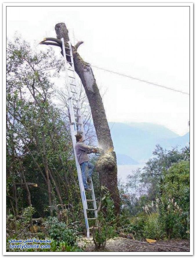 عُمال لا يعترفون بإجراءات السلامة