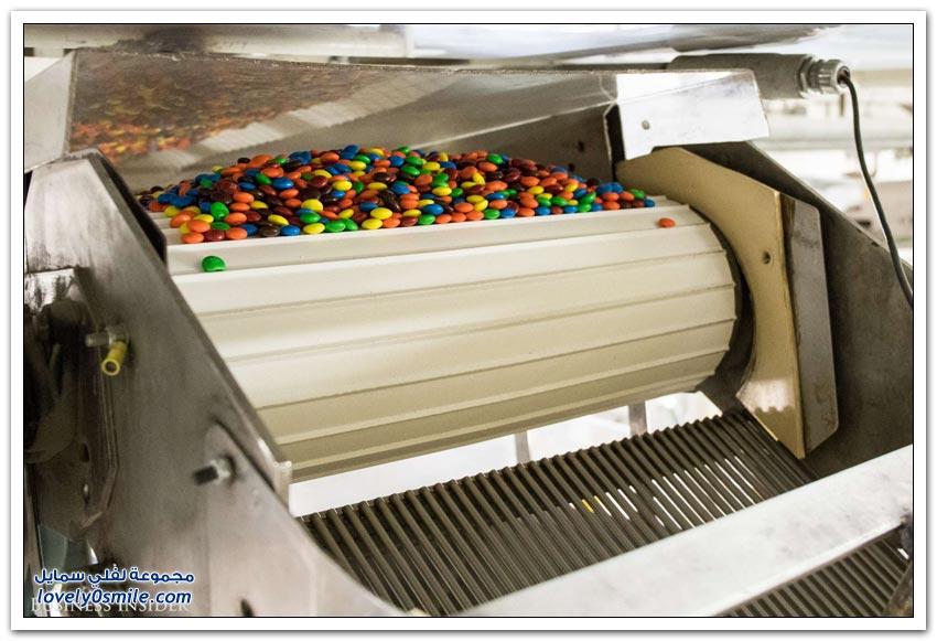 مصنع حلويات إم آند إمز