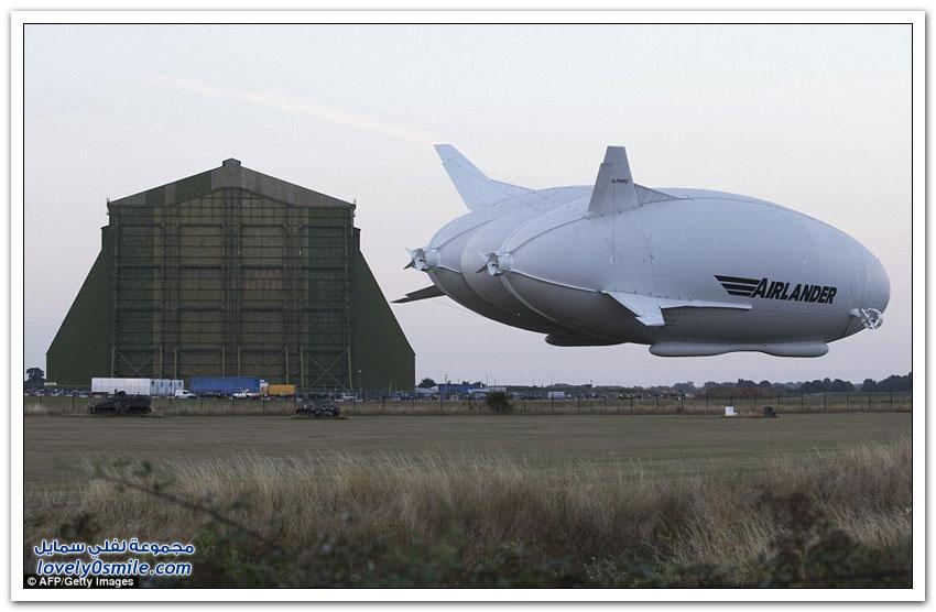 أكبر طائرة في العالم مملوءة بالهيليوم