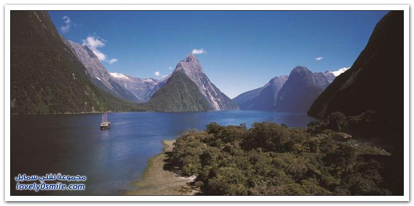 الطبيعة الساحرة في نيوزيلندا