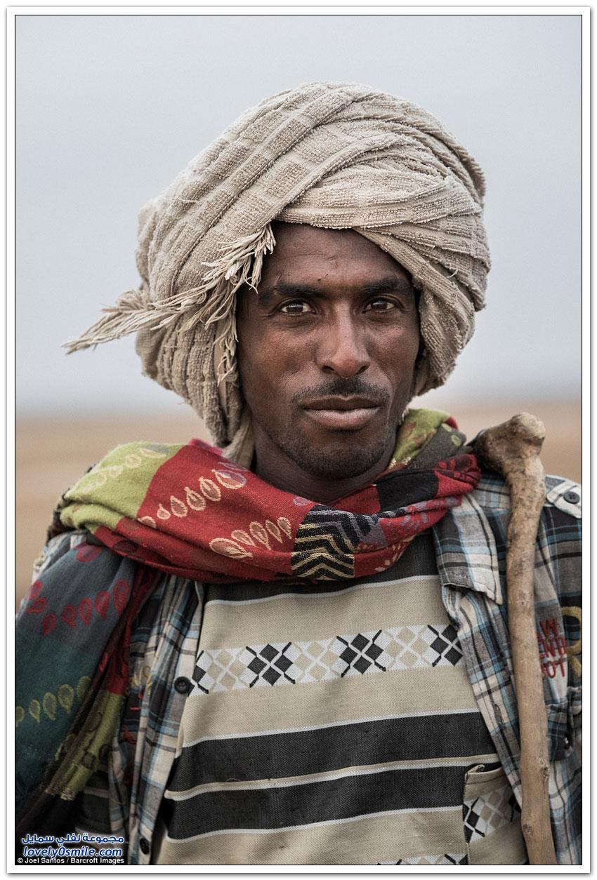 معاناة استخراج الملح في إثيوبيا
