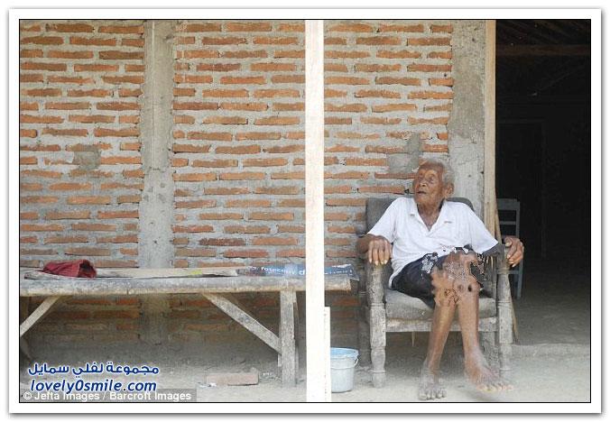أكبر معمر بالتاريخ إندونيسي عمره 145 عاما