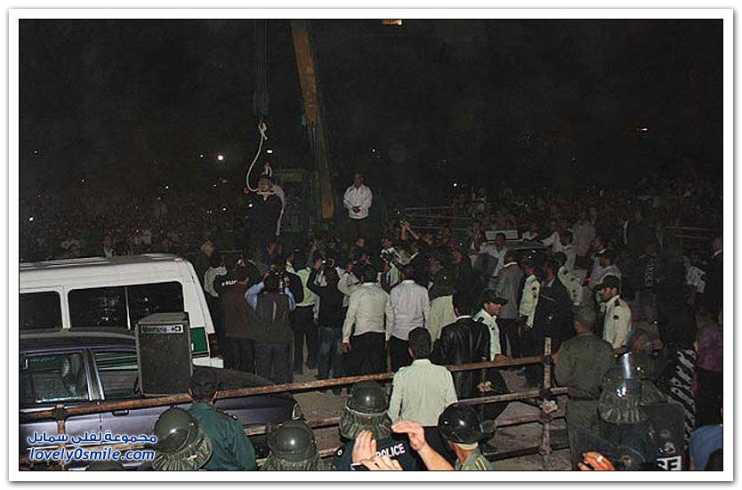 صور لإعدام أهل السنة في إيران