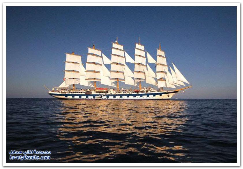 أكبر سفينة شراعية في العالم