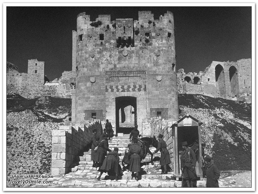 صور من سوريا خلال الحرب العالمية الثانية