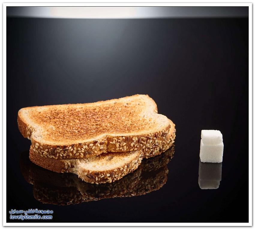 كمية السكر في بعض الأطعمة