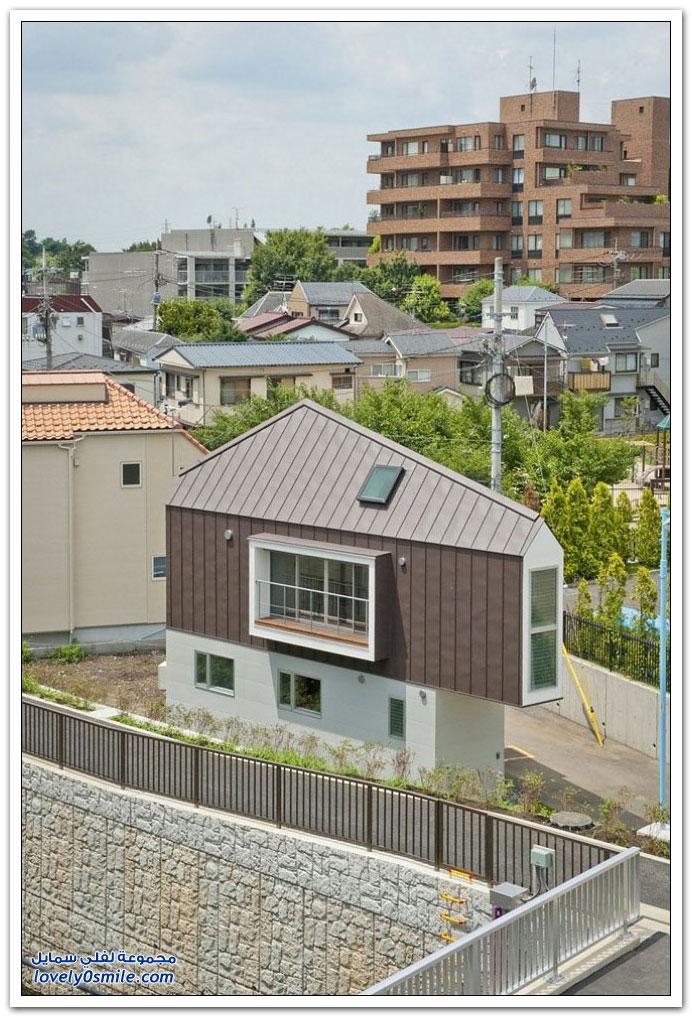 أحد المنازل اليابانية