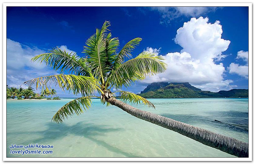صور مذهلة من جزيرة بورا بورا