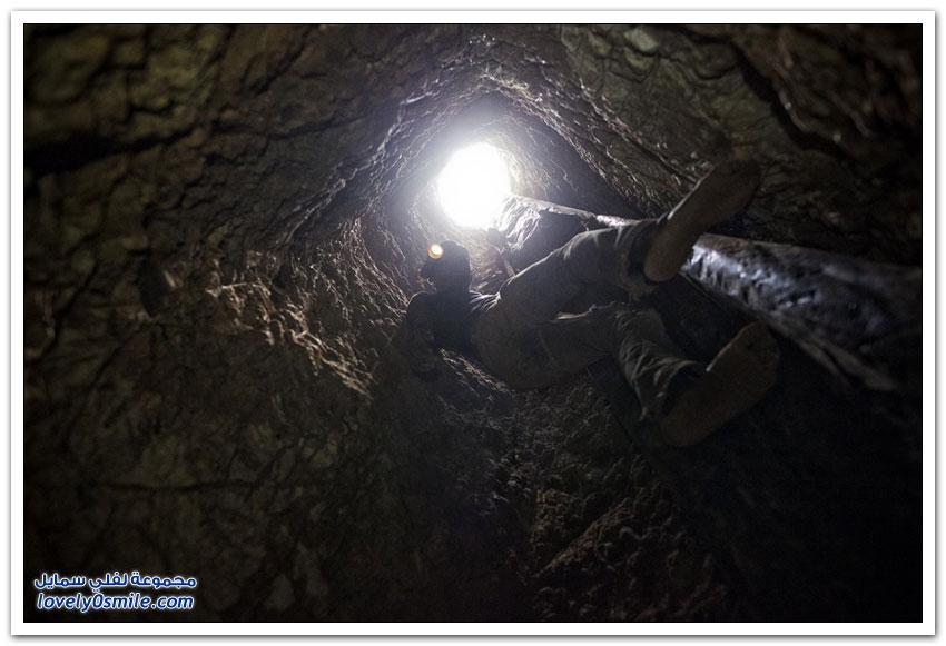 البحث عن الذهب في بوركينا فاسو