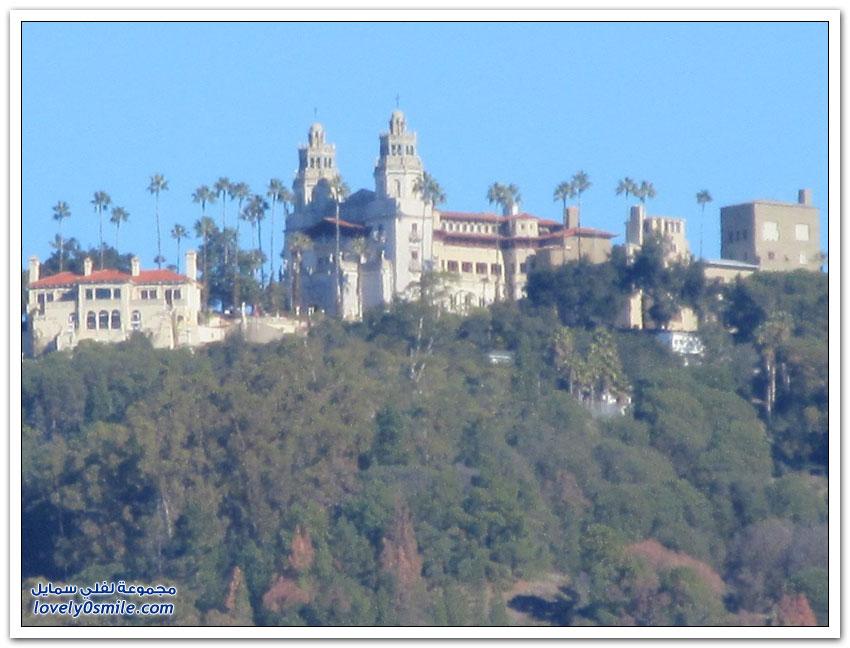 قلعة هيرست في ولاية كاليفورنيا