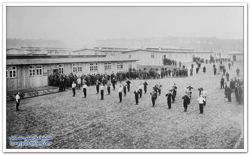 ونسدورف المخيم المهجور للجيش السوفيتي في ألمانيا