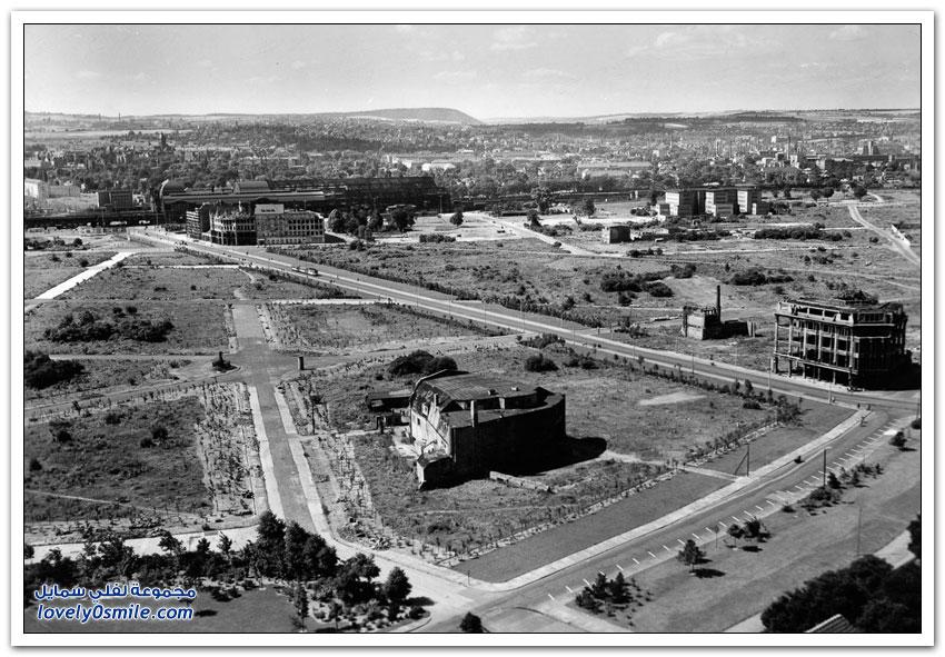 إعادة بناء مدينة درسدن الألمانية بعد الحرب العالمية الثانية
