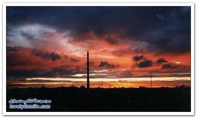 برج التلفزيون في يكاترينبورغ أطول برج أيام الاتحاد السوفياتي