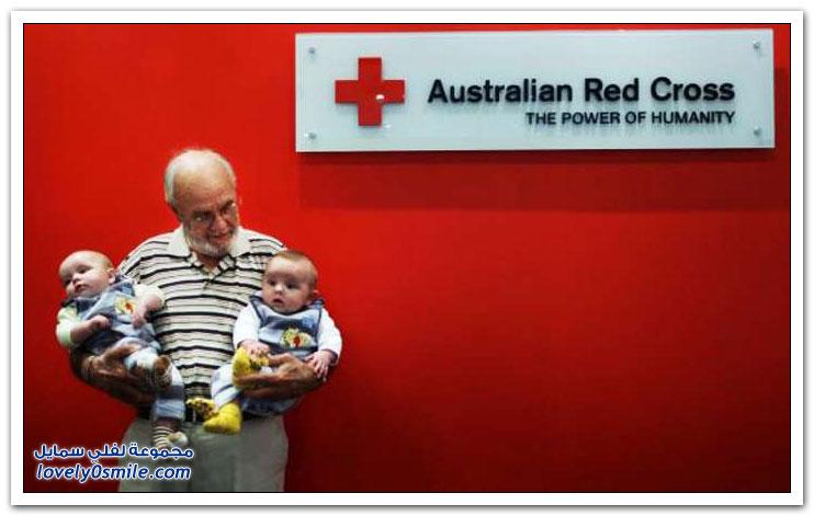 أسترالي ينقذ مليوني طفل بتبرعه بدمه النادر