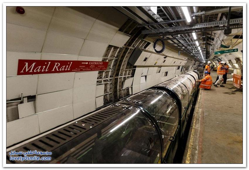 السكة الحديد لبريد لندن
