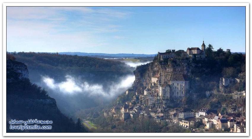 روكامادور أجمل القرى الساحرة فى فرنسا