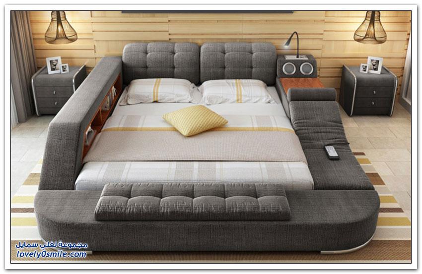 سرير متعدد الوظائف