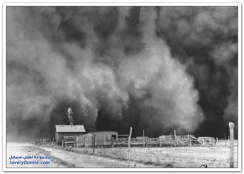 عواصف الثلاثينات القذرة في أمريكا