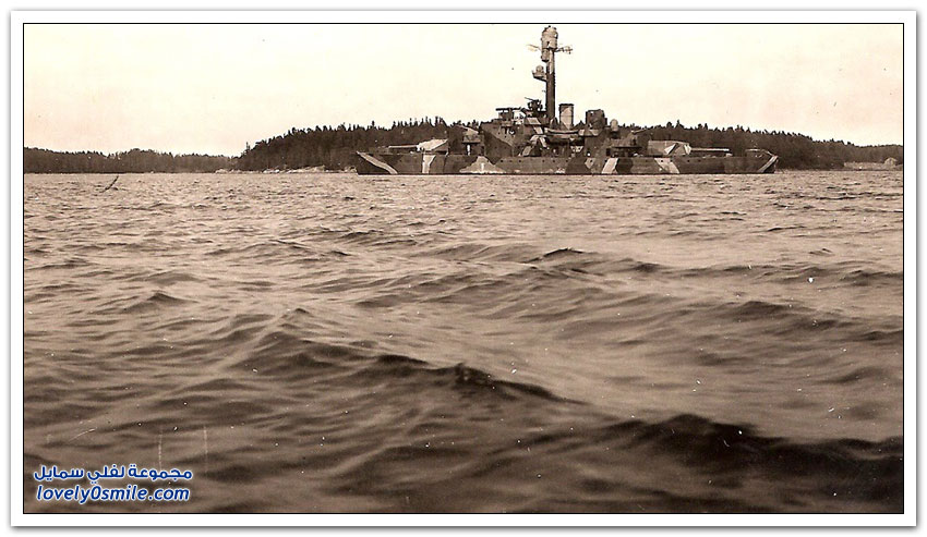 طريقة إخفاء السفن في الحرب العالمية الثانية