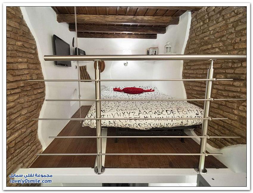 شقة مساحتها 7 متر مربع في روما