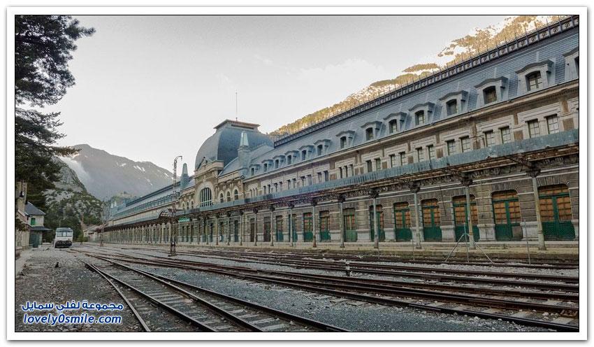 محطة سكة الحديد كانفرانك أكبر محطة قطار مهجورة في العالم