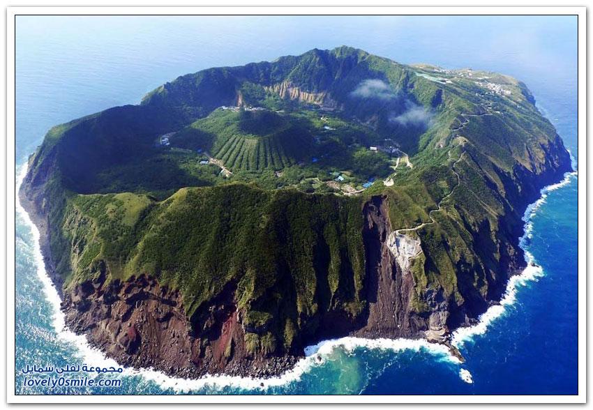 بركان جزيرة أوغاشيما