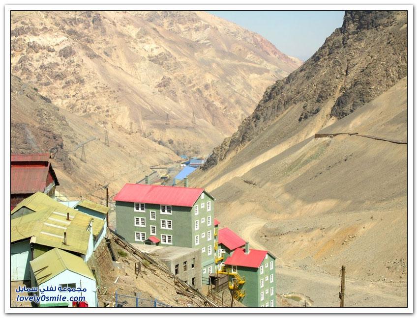 مدينة سيويل مدينة التعدين المهجورة في جبال الأنديز
