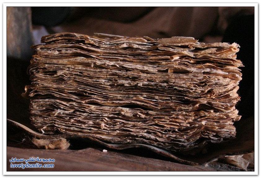 المكتبات المهجورة في صحراء شنقيط