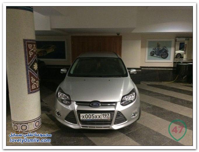 سيارات وزير التعليم في داغستان