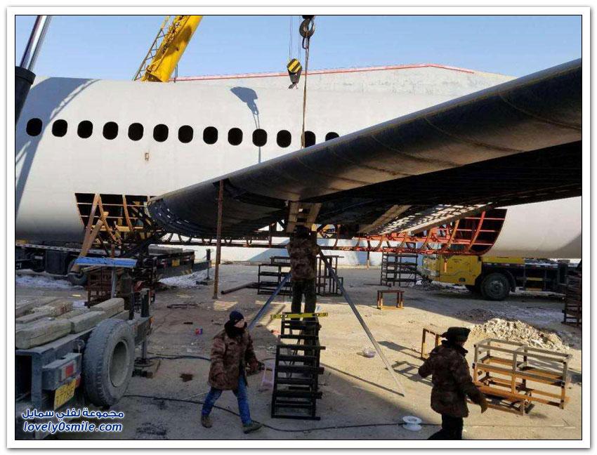 مزارع صيني يصمم طائرة إيرباص بحوالي 120 ألف دولار