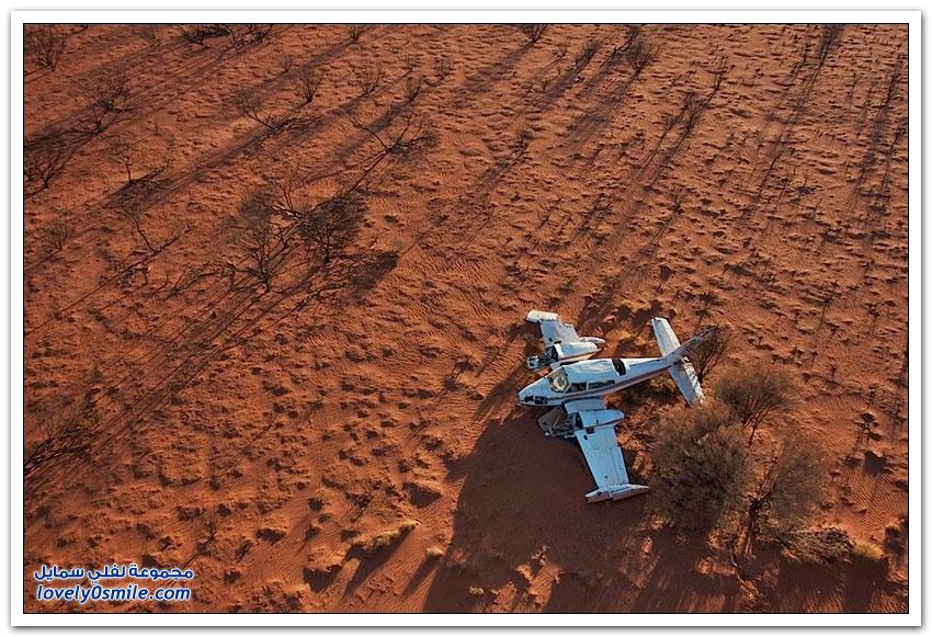 حوادث طائرات مع نهايات سعيدة