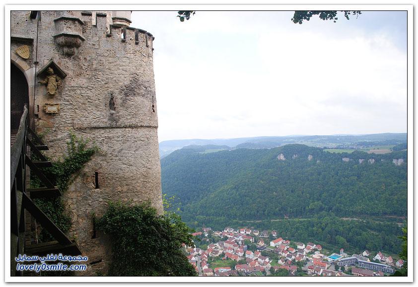 قلعة ليختنشتاين في ألمانيا