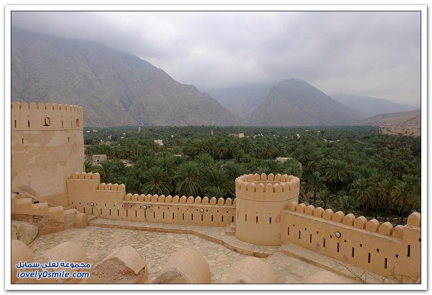 قلعة نخل أبرز المعالم التاريخية بسلطنة عمان