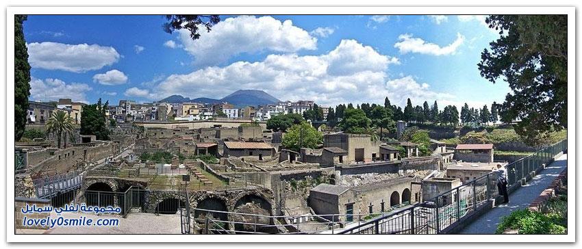 مدينة هركولانيوم في إيطاليا