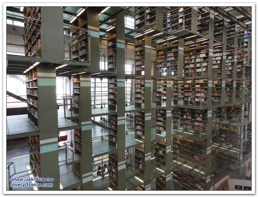 مكتبة خوسيه فاسكونسيلوس في مكسيكو سيتي