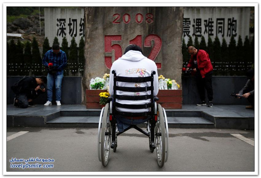 الصين تحيي الذكرى العاشرة لزلزال سيتشوان المدمر