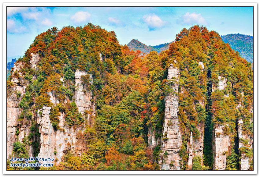 حديقة تشانغجياجيه الصينية