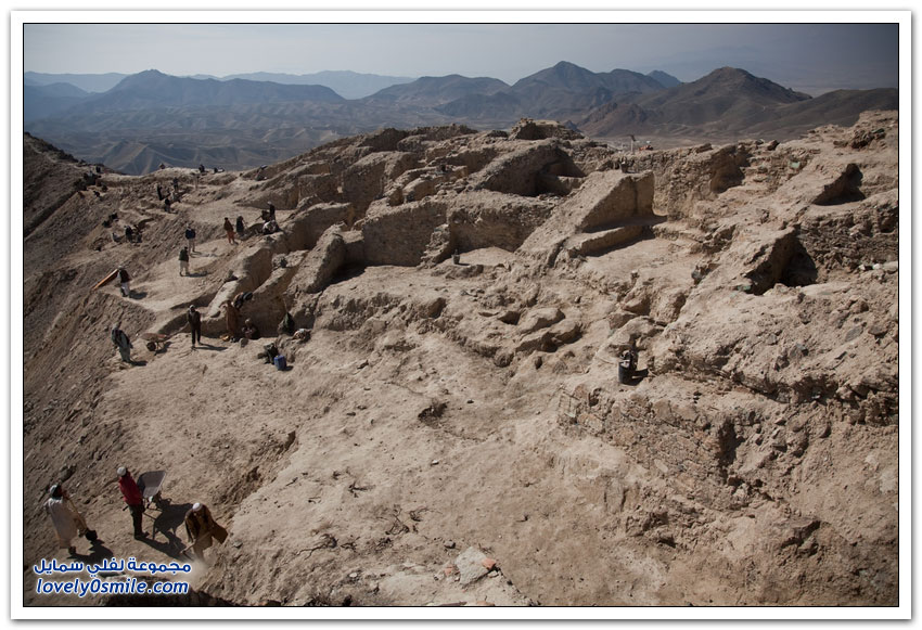 أخر الآثار البوذية في أفغانستان