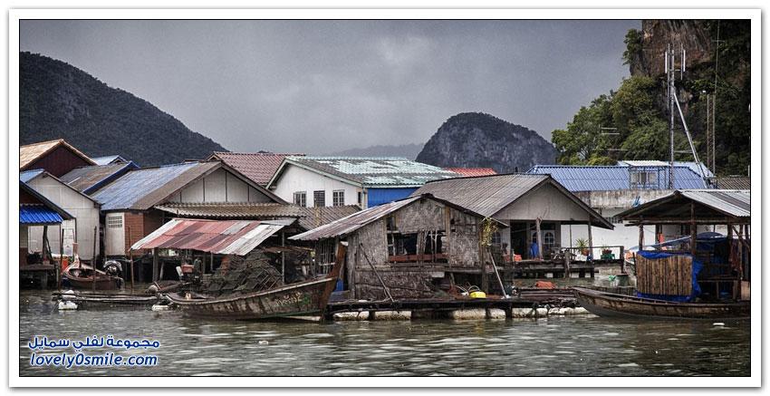 كو باني القرية العائمة في تايلاند