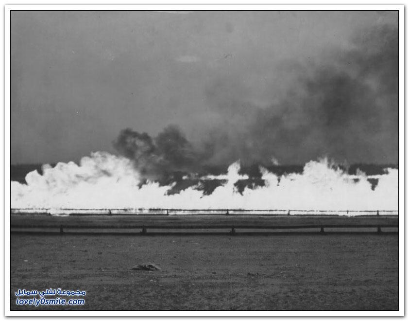 مدرجات النار هو حل البريطانيون للتغلب على الضباب خلال الحرب العالمية الأولى