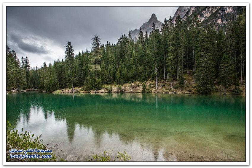 بحيرة لاغو دي برايس في إيطاليا