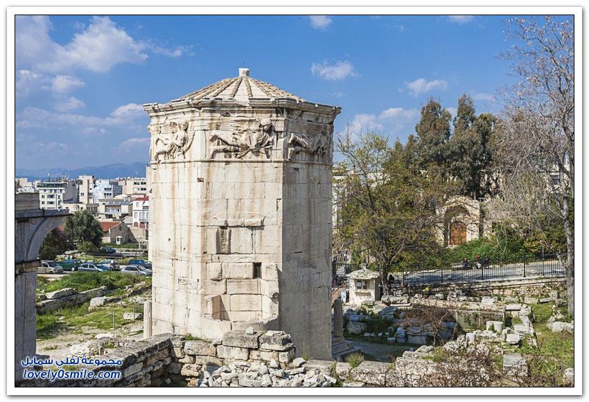 برج الرياح اليوناني أول محطة للطقس في العالم